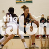 The Lady Eagles defeat Dallas Lincoln with a score of 65-63 taking the team to the regional tournament. Lady Eagles vs. Dallas Lincoln (2-20-18) at Newman Smith in carollton, Texas, on February 20, 2018. (campbell wilmot / The Talon News)