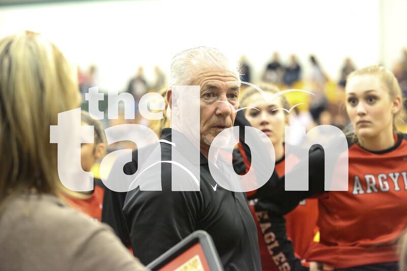Lady Eagles vs Lincoln Dallas Carollton High School on 1/22/12 in Carollton, Texas. (GiGi Robertson)