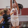 The Lady Eagles fall to Decatur at Argyle High School on January 15, 2021. (Katie Ray | The Talon News)