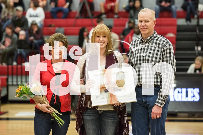 The Eagles take on Gainesville on Feb. 3, 2017 at Argyle High School in Argyle, Texas. (Christopher Piel/The Talon News)