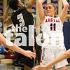 The Lady Eagles take on Gilmer in the UIL Regional Semi-Final game on Feb. 23, 2018. (Campbell Wilmot/The Talon News.)