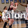Lady Eagles take on Gilmer in the Region Semi-finals at A&M Commerce Field House in Commerce,Texas on 2/26/16.