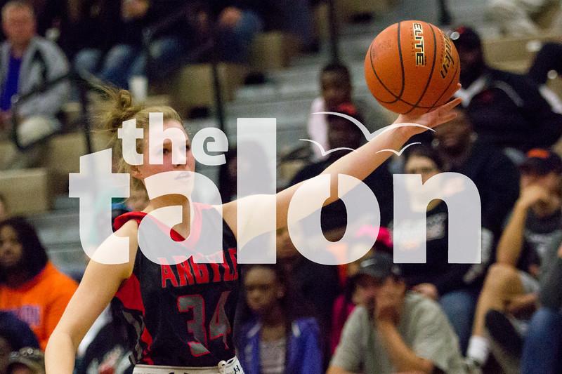 Lady Eagles Basketball (2-26-16) at Argyle High Schoolon 2/26/16 in Argyle, Texas. (Photo by Faith Stapleton/ The Talon News)