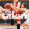 The Lady Eagles take on Godley in round one of the playoffs at Azle High School on Feb. 11, 2019. (Campbell Wilmot/ The Talon News).