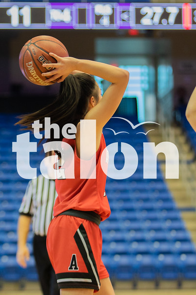 The Lady Eagles defeat the Godley Wildcats at UT Arlington on February 17, 2020. (Katie Ray | The Talon News)