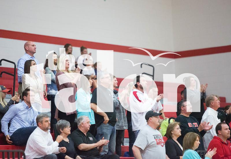 Lady eagles playing against Grapevine High School at Grapevine High School on 11/15/16 in Grapevine, Texas. (Faith Stapleton/ The Talon News)