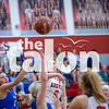 The Lady Eagles defeat Krum High School at Argyle High School on 01-21-20 . (Alex Daggett | The Talon news)