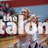 The Lady Eagles defeat Krum High School at Argyle High School on 01-21-20 . (Alex Daggett | The Talon news)