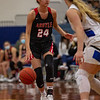 The Lady Eagles take home a win against the Krum Bobcats at Krum High School on January 26, 2021. (Katie Ray | The Talon News)