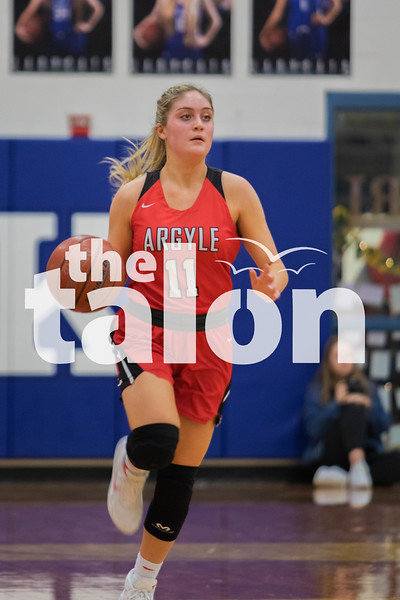 The Lady Eagles defeat the Krum Bobcats on February 7, 2020. (Katie Ray   The Talon News)