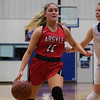 The Lady Eagles defeat the Krum Bobcats on February 7, 2020. (Katie Ray | The Talon News)