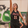 The Lady Eagles take home a win against the Lakeworth Bullfrogs at Lakeworth High School on January 19, 2021. (Katie Ray | The Talon News)