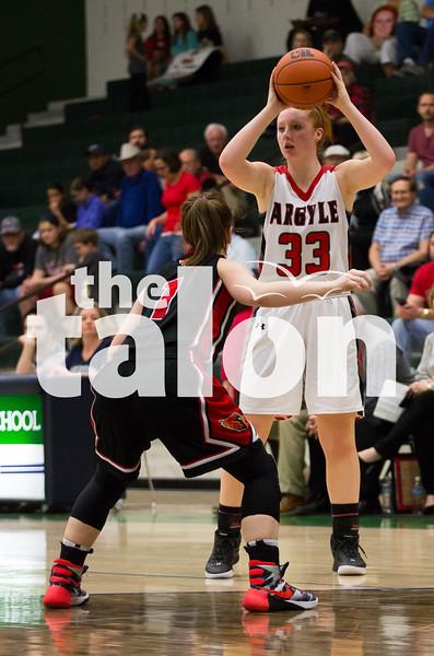 The Lady Eagles took on Melissa High School at Reedy High School in Frisco, TX on Friday, Feb. 19. (Annabel Thorpe)
