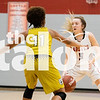 The Lady Eagles defeat South Oak Cliff with a final score of 51-26 on Nov. 20, 2018. (Campbell Wilmot/ The Talon News).
