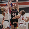 The Lady Eagles defeat the Springtown Porcupines at Springtown High School on January 12, 2020. (Katie Ray | The Talon News)