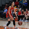 The Lady Eagles defeat the Springtown Porcupines at Springtown high school on January 17, 2020. (Katie Ray | The Talon News)
