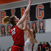 The Lady Eagles defeat the Springtown Porcupines at Springtown high school on January 17, 2020. (Katie Ray   The Talon News)