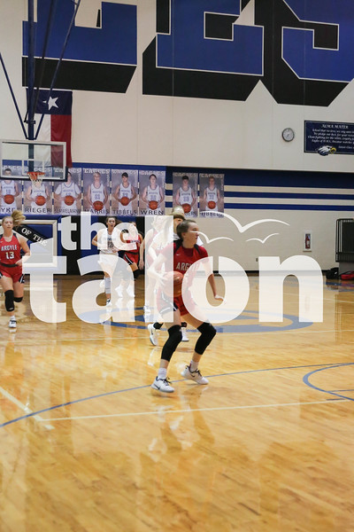 The Lady Eagles defeat the Decatur Eagles at Decatur High School on January 24, 2020. ( Grace Fife   The Talon News )