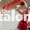 The Argyle Lady Eagles Basketball team plays against the Stephenville Honey Bees at Aledo High School in Aledo, Texas on February 19, 2019. (Andrew Fritz | The Talon News)