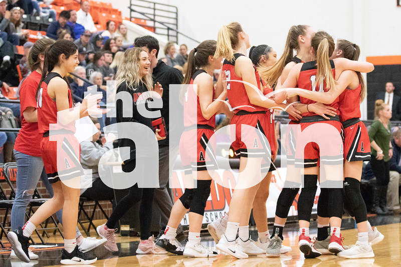 The Eagles win their playoff game against Stephenville at Aledo High School on Feb. 19, 2019. (Campbell Wilmot/ The Talon News).