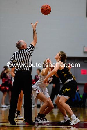 Lady Hornets vs Trenton District Championship February 29, 2020