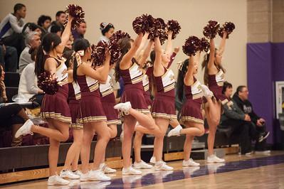 Menlo Atherton Varsity Men's Basketball vs. Sequoia High   2013-01-11