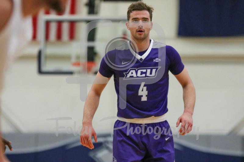 Abilene Christian Wildcats guard Jovan Crnic (4)
