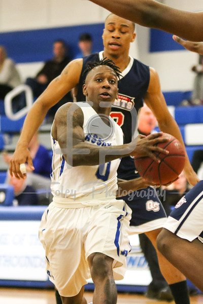 Assumption College guard Marcus Murray (0)