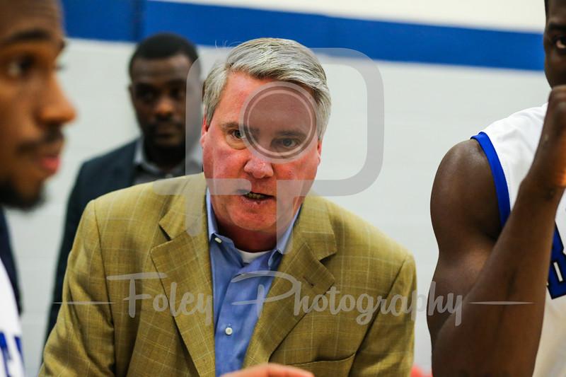 Becker College Hawks head coach Brian Gorman