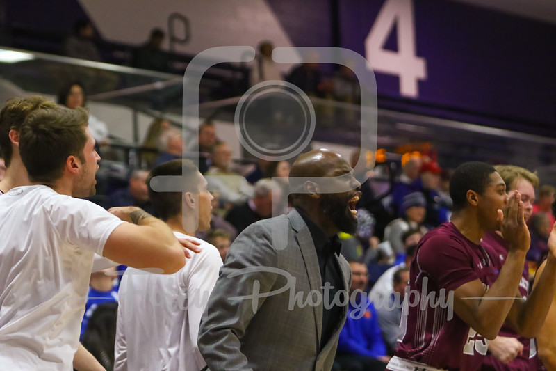 Colgate Raiders assistant coach Mike Jordan