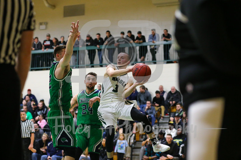 Nichols College Bison guard Tyler Dion (3)
