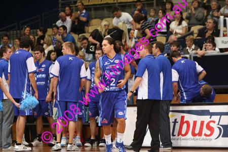 NBL 08 Spirit Vs Tigers 14-9-08 ©KIMAGES08_0107
