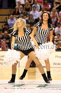 Hawks Dancers - Images from the 2009/10 NBL Round 10 match between the Wollongong Hawks and Adelaide 36er's played at Win Entertainment Centre on Wednesday the 25th of November 2009. The match was won by Adelaide 82-59 . (PHOTO: ROB SHEELEY - SMP IMAGES) These images are intended for editorial use only (e.g. news or commentary print or electronic). Any commercial or promotional use requires additional clearance.