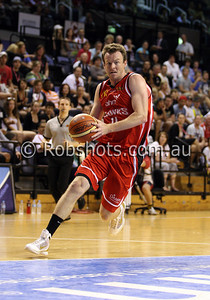 Cam Tragardh - Wollongong Hawks - Images from the 2009/10 NBL Round 10 match between the Wollongong Hawks and Adelaide 36er's played at Win Entertainment Centre on Wednesday the 25th of November 2009. The match was won by Adelaide 82-59 . (PHOTO: ROB SHEELEY - SMP IMAGES) These images are intended for editorial use only (e.g. news or commentary print or electronic). Any commercial or promotional use requires additional clearance.
