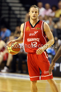 Glen Saville - Wollongong Hawks - Images from the 2009/10 NBL Round 10 match between the Wollongong Hawks and Adelaide 36er's played at Win Entertainment Centre on Wednesday the 25th of November 2009. The match was won by Adelaide 82-59 . (PHOTO: ROB SHEELEY - SMP IMAGES) These images are intended for editorial use only (e.g. news or commentary print or electronic). Any commercial or promotional use requires additional clearance.
