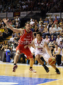Brad Hill - Adelaide 36er's - Images from the 2009/10 NBL Round 10 match between the Wollongong Hawks and Adelaide 36er's played at Win Entertainment Centre on Wednesday the 25th of November 2009. The match was won by Adelaide 82-59 . (PHOTO: ROB SHEELEY - SMP IMAGES) These images are intended for editorial use only (e.g. news or commentary print or electronic). Any commercial or promotional use requires additional clearance.