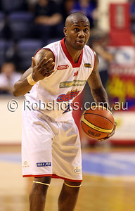 John Gilchrist - Adelaide 36er's - Images from the 2009/10 NBL Round 10 match between the Wollongong Hawks and Adelaide 36er's played at Win Entertainment Centre on Wednesday the 25th of November 2009. The match was won by Adelaide 82-59 . (PHOTO: ROB SHEELEY - SMP IMAGES) These images are intended for editorial use only (e.g. news or commentary print or electronic). Any commercial or promotional use requires additional clearance.
