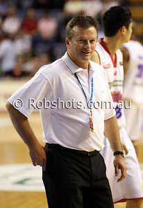Former Australian cricket captain Steve Waugh was at the match as an ambassador for Wollongong's major sponsor Australia Health Management - Images from the 2009/10 NBL Round 10 match between the Wollongong Hawks and Adelaide 36er's played at Win Entertainment Centre on Wednesday the 25th of November 2009. The match was won by Adelaide 82-59 . (PHOTO: ROB SHEELEY - SMP IMAGES) These images are intended for editorial use only (e.g. news or commentary print or electronic). Any commercial or promotional use requires additional clearance.