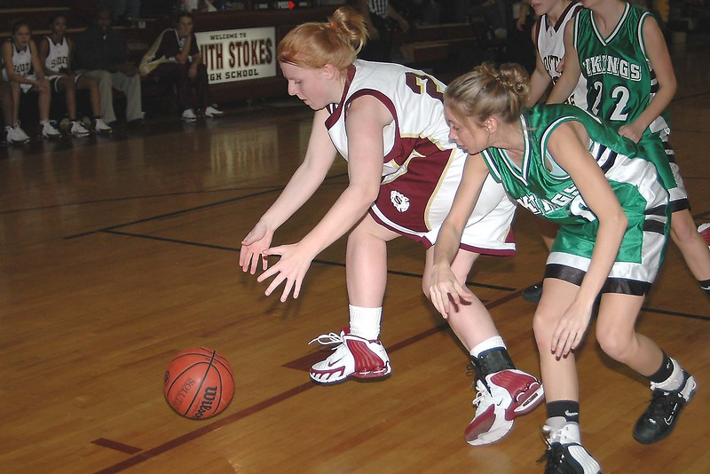 North Stokes vs South Stokes, varsity girls & boys, 12/13/05