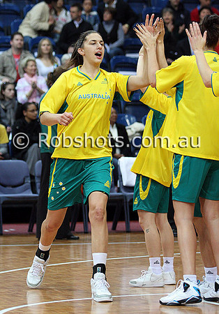 Opals Vs China - 11th August 2009 - AIS Arena