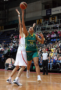 Opals Vs China - AIS Arena 11th August 2009 - Elizabeth Cambage 101