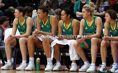 Opals Vs China - AIS Arena 11th August 2009 - Bench