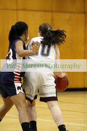 PWHS Freshman Girls Basketball vs Abington 1/31/13