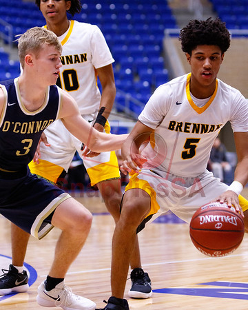 Brennan vs O'Connor Basketball - Boys-3763