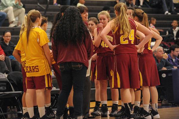 Sequoia Girl's vs. M-A Girl's Varsity Basketball 2014-01-31