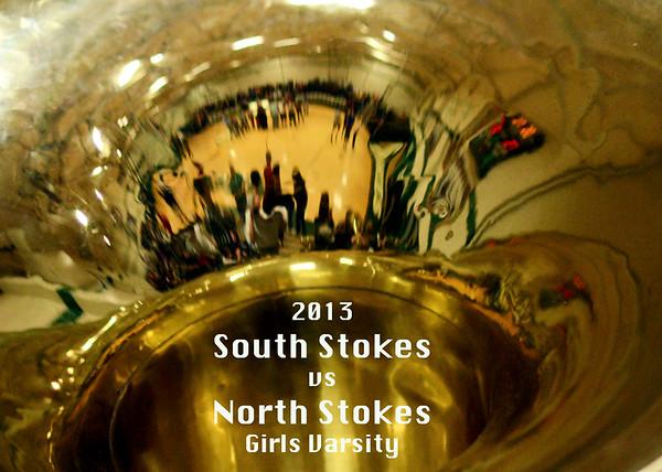 South Stokes vs North Stokes Girls & Boys Varsity Basketball 2013