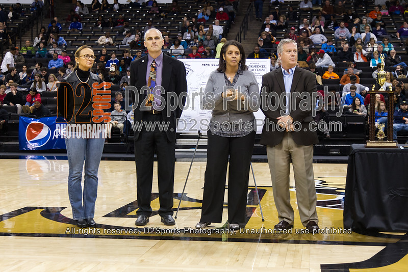 Frank Spencer Holiday Classic Awards Ceremony - Pepsi Bracket