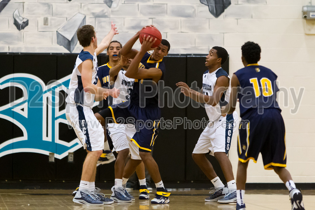 Mount Tabor Spartans vs Forsyth Country Day Furies Men's Varsity Basketball