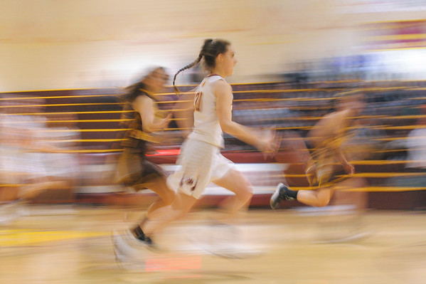 St. Francis Girls Basketball vs. M-A, 2017-02-28