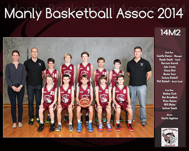 Manly Team 2014 14M2 (Large)